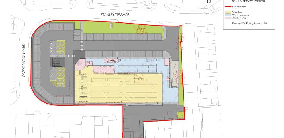 Proposed Site Layout Clean