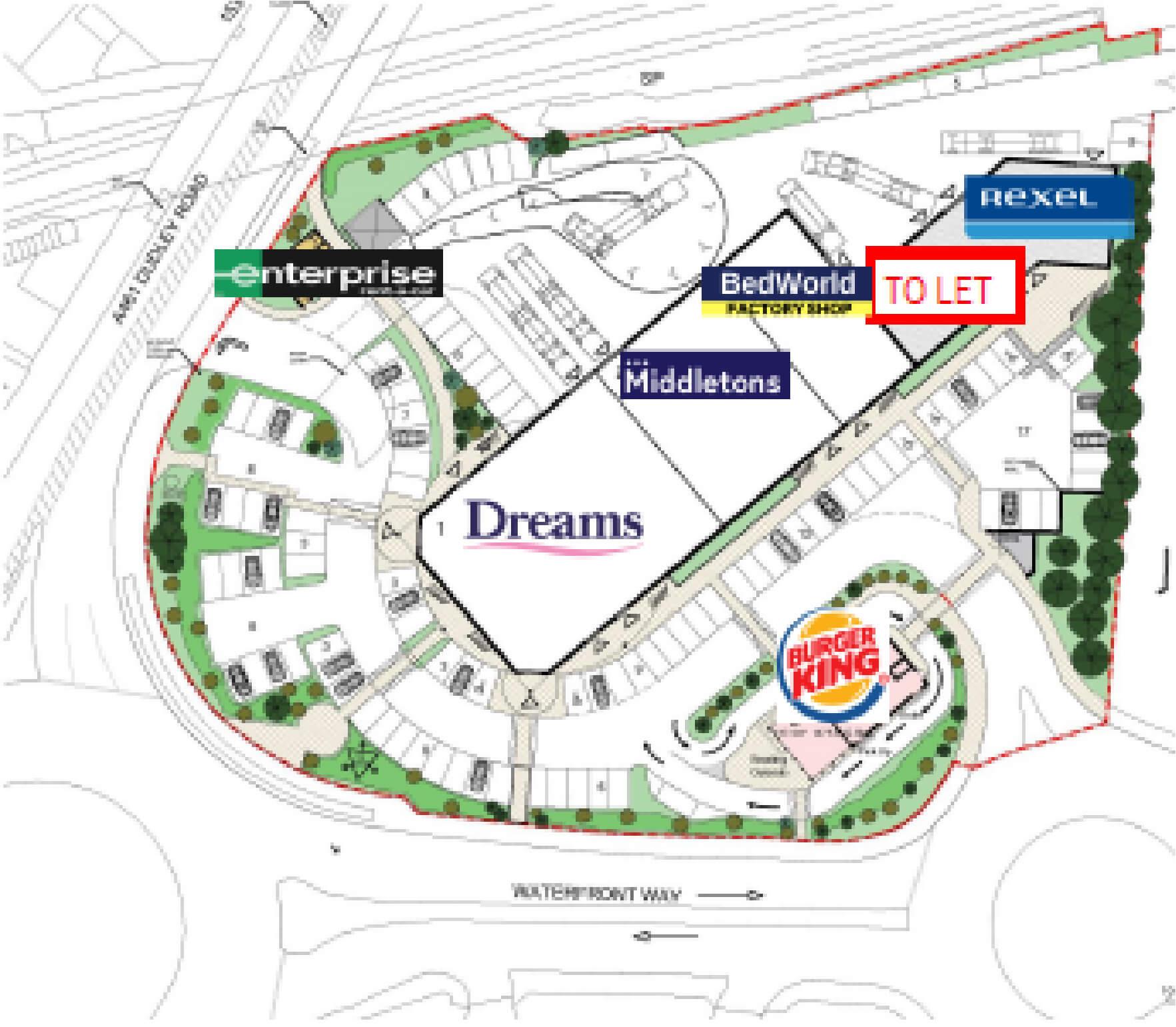 Brierley Hill Waterfront Way 2021 plan