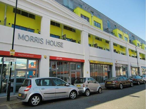 Morris House web