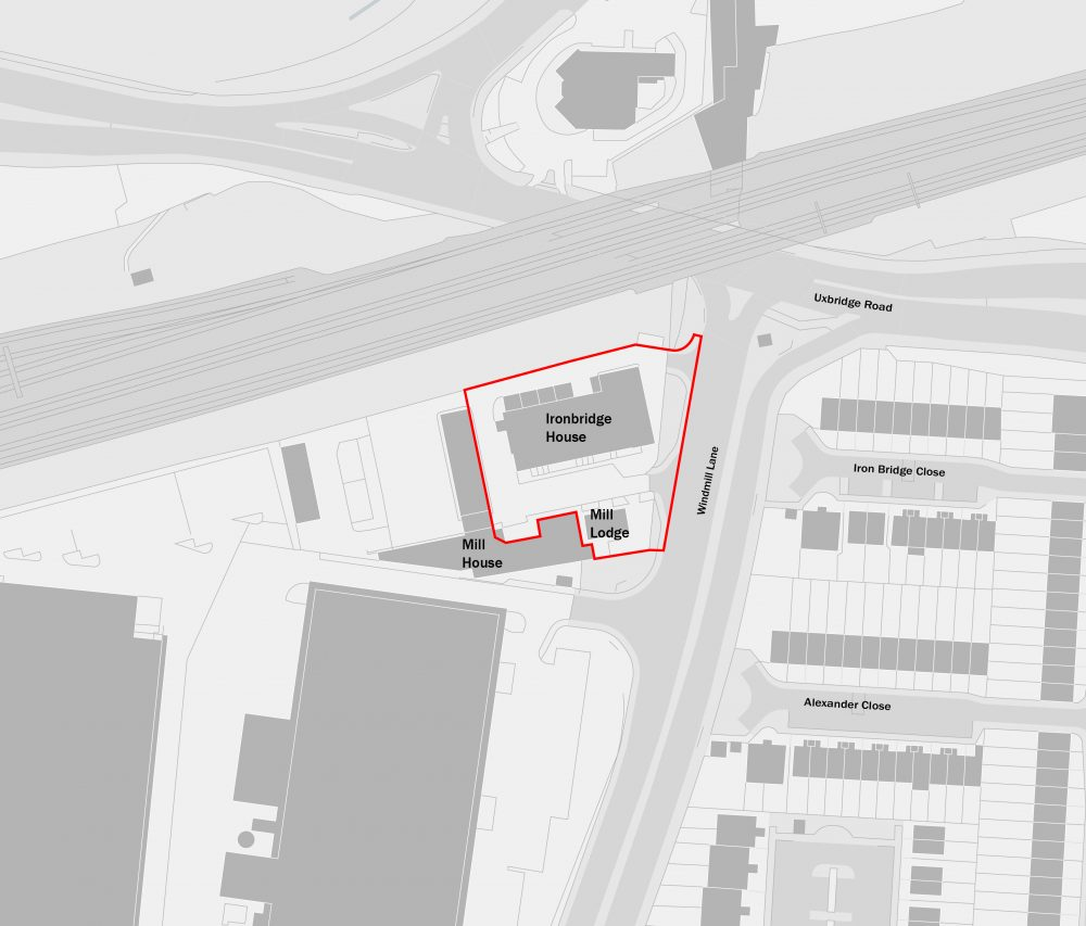 Ironbridge House Site Plan