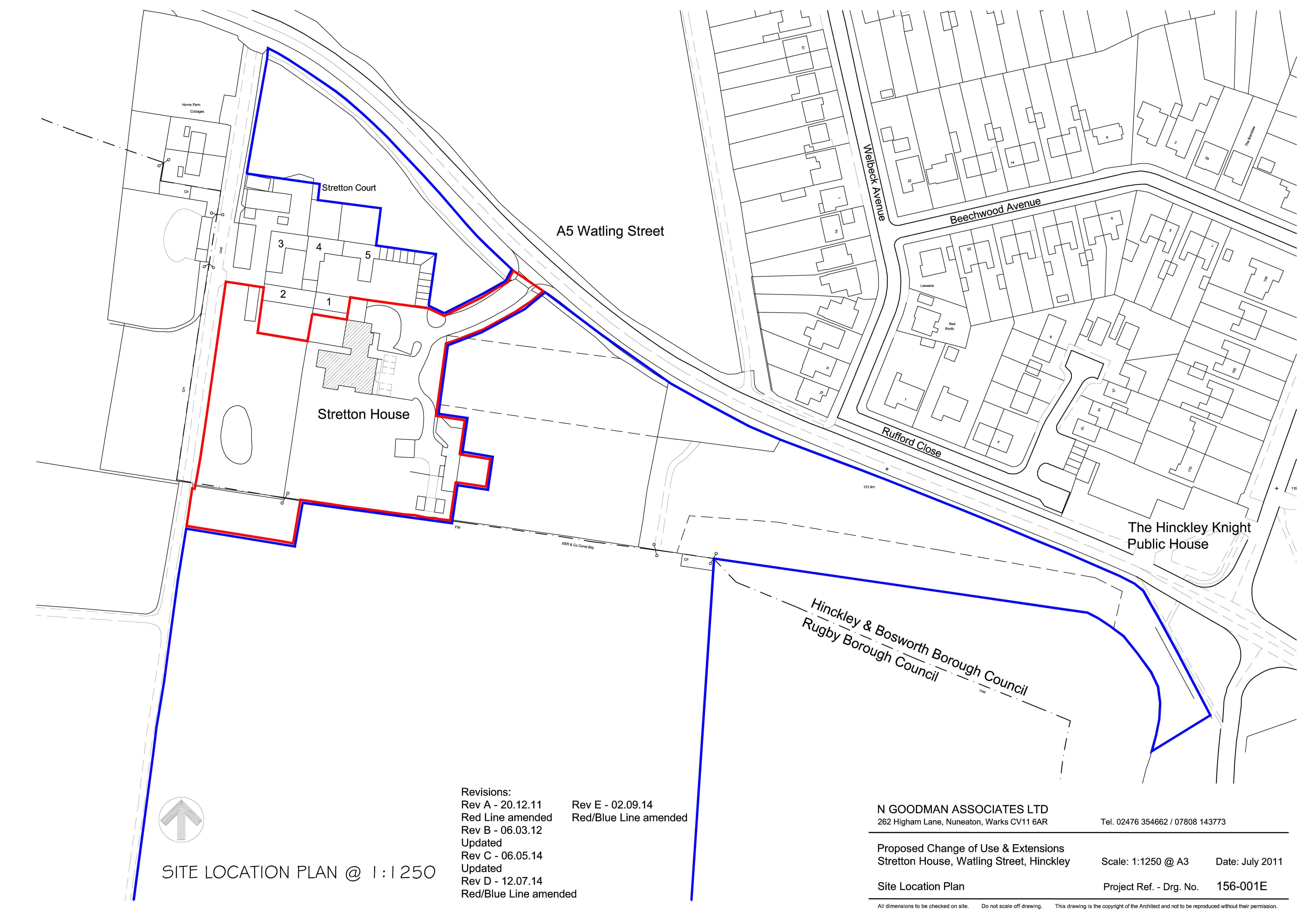 Stretton House_site plan